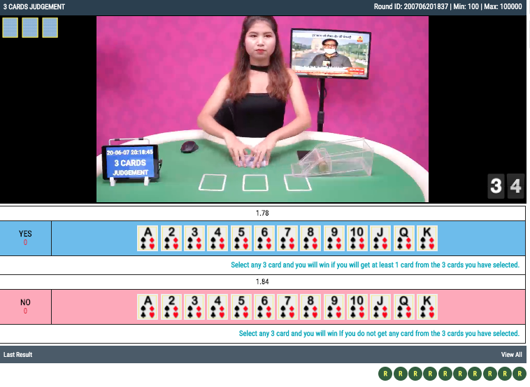 3 cards judgement casino online live betting account id