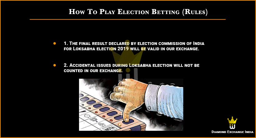 Election Online Betting Account Id