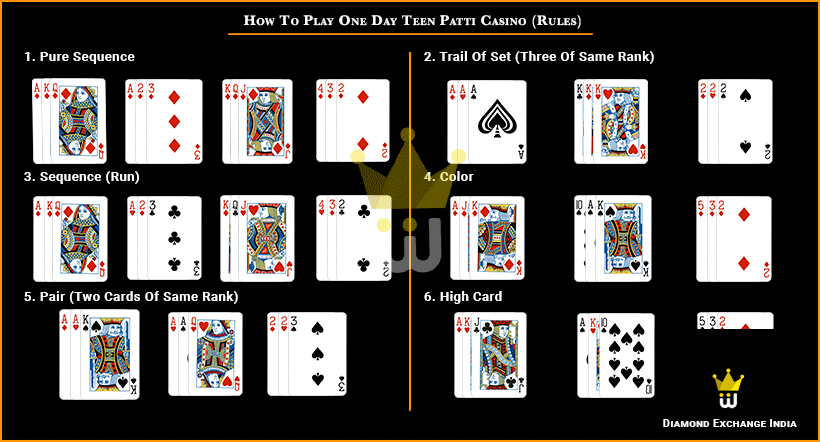 One Day Teen Patti online live betting account