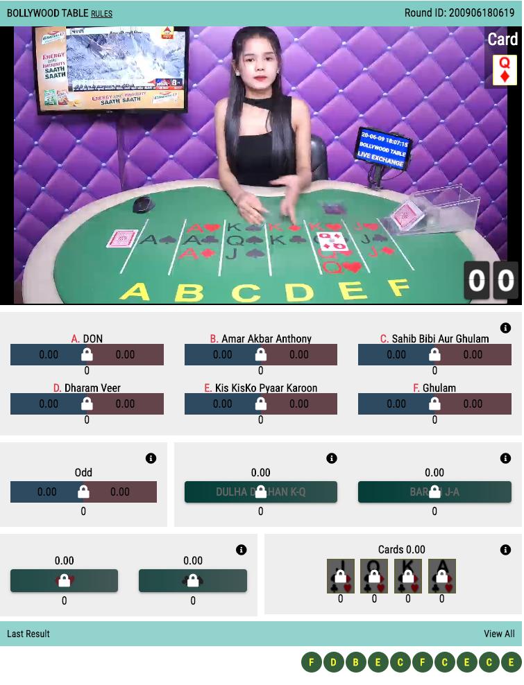 bollywood casino online betting account id.